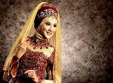 Gambar Koleksi Contoh Kebaya Pengantin Muslim Modern