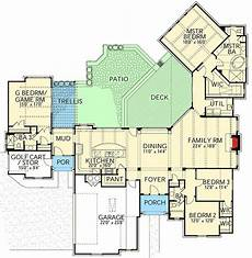 country house plan hill country house plan with flex room 28339hj