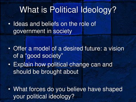 What Is Ideology