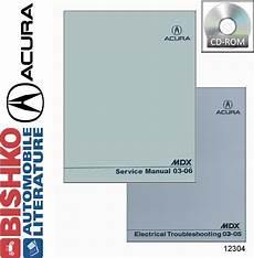 auto repair manual online 2003 acura mdx instrument cluster 2003 2004 2005 2006 acura mdx shop service repair manual cd ebay