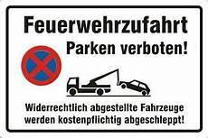 Parken In Feuerwehrzufahrt - feuerwehrzufahrt parken verboten hinweisschild