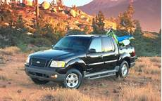 2001 ford explorer sport trac mpg used 2001 ford explorer sport trac mpg gas mileage data edmunds