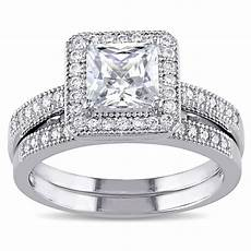 cubic zirconia wedding rings miadora sterling silver white cubic zirconia bridal ring