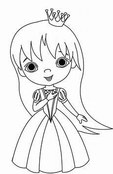 Bilder Zum Ausmalen Prinzessin Kostenlose Malvorlage Prinzessin Prinzessin Mit Langen
