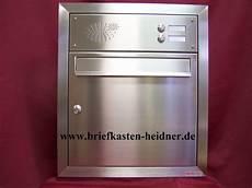Briefkasten Mit Klingel Aufputz - uph13 knobloch unterputz briefkastenanlage 1 tlg tiefe