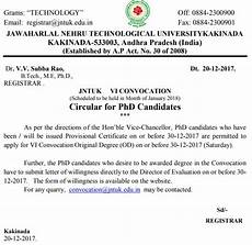 jntuk last date to apply for vi convocation od is extended to 30 12 2017 phd candidates only jntuk last date to apply for vi convocation od is extended to 30 12 2017 phd candidates only