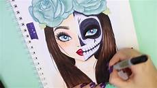 topmodel malen malvideo how to draw