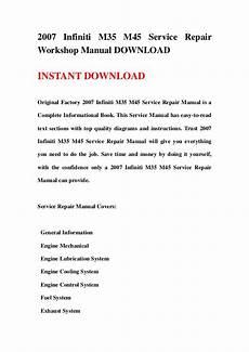 service repair manual free download 1992 infiniti m user handbook 2007 infiniti m35 m45 service repair workshop manual download