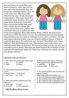 reading comprehension for beginner and elementary students 9 reading comprehension