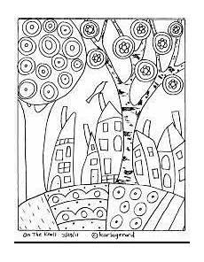 Malvorlage Hundertwasser Haus Bildergebnis F 252 R Malvorlagen Hundertwasser Hundertwasser