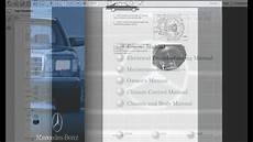 service repair manual free download 2012 mercedes benz glk class on board diagnostic system mercedes benz model 126 service manual library youtube