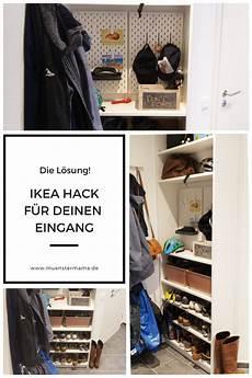 Ikea Hack F 252 R Den Flur Minimale Fl 228 Che Maximaler Stauraum