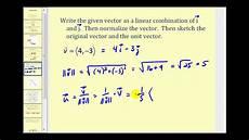 the unit vector 2d youtube