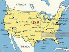 The United States Of America Vector Map Vector Getty