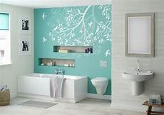 Aqua Color Bathroom Ideas by Aqua Feature Wall Betta Living Libra Bathroom For My