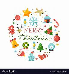 merry christmas banner template royalty free vector