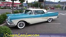 1958 Ford Fairlane 500 Skyliner Galaxie Convertible
