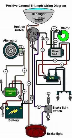 13 wire diagram for chopper wiring diagram for triumph bsa with boyer ignition motorcycle wiring