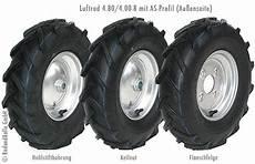 Laufrad 4 80 4 00 8 Mit Stahlfelge Reifen Mit As Profil