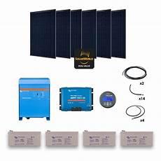 kit solaire 1680w autonome convertisseur 230v 3000va