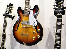 epiphone casino coupe review musikmesse 2014 epiphone stand casino coupe guitar news musicradar