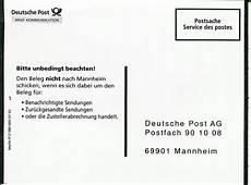 philaseiten de 325 formulare der post