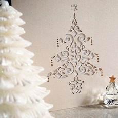 weihnachtskarten basteln mit scherenschnitt ideen