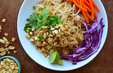 easy pad thai with chicken just a taste