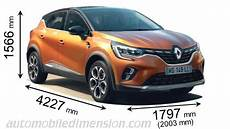 Renault Captur 2020 Dimensions Boot Space And Interior