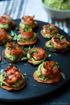 cajun shrimp guacamole bites easy healthy recipes using