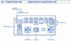 2004 Toyotum Camry Fuse Diagram by Toyota Xle 2004 Engine Room Compartment Fuse Box