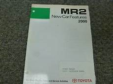 car owners manuals free downloads 2002 toyota mr2 windshield wipe control 2000 2001 2002 toyota mr2 spyder convertible new car features service manual ebay