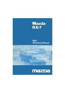 automotive service manuals 1985 mazda rx 7 transmission control mazda rx 7 reference materials