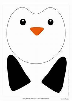 Rentier Pinguin Und Eisb 228 R Luftballons Selber Basteln