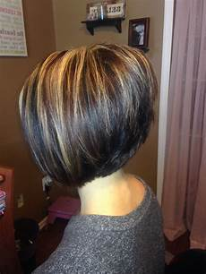 20 best ideas of stacked bob hairstyles with highlights