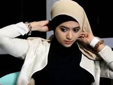 Tutorial Jilbab Segi Empat Santai Dan Formal 2016