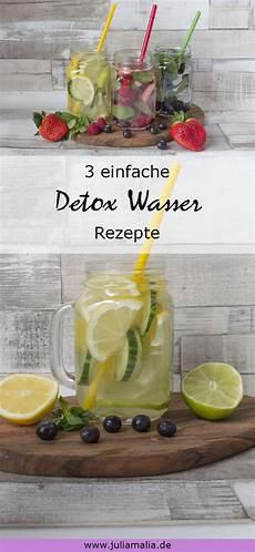 Detox Wasser Ganz Einfach Selber Machen Juliamalia