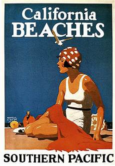art artists vintage travel posters part 1