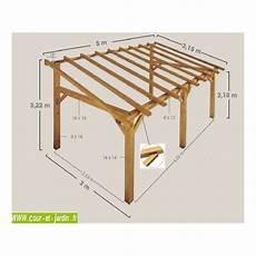 plan abris bois auvent bois auvent en bois charpente en kit abri
