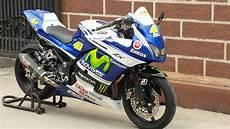 250 Modifikasi Motogp by Modifikasi Motor Kawasaki 250 Model Motogp Valentino