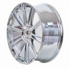 4 gwg wheels 20 inch chrome flow rims fits 5x120 et38