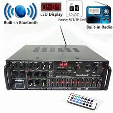 220v 400w Bluetooth Power Lifier Audio by 220v 400w 2x200w 2ch Eq Equalizer Bluetooth Stereo Power