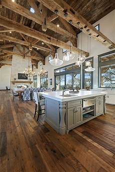 interior beams truss mantle rustic wood reclaimed reclaimed beams rafters joints trusses kitchen and great