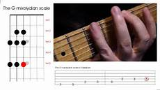 Learn To Play The G Mixolydian Scale On The Guitar
