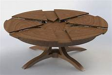circle table that expands interior design decorating ideas