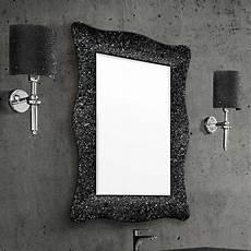 Miroir Salle De Bain 98x70 Cm Alexandra Noir Bronze Ou