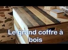 caisse pour bois de chauffage grand coffre 224 bois de chauffage en palette et bois de