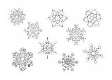 Schneeflocken Malvorlagen Zum Ausdrucken Ausmalbild Verschiedene Schneeflocken Schneeflocke