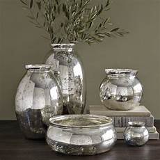 mercury glass vases contemporary vases by westelm au