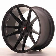 japan racing wheels jr 21 matt black 19x11 zoll japan